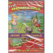 Serbarea verii - CD cu jocuri educationale 3-7 ani ( editura: EduTeca, ISBN 978-606-93111-6-5 )