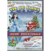 Vis de iarna - CD jocuri educationale prescolari, gradinita 3-7 ani ( editura: EduTeca, ISBN 978-606-93111-2-7 )