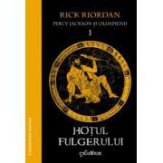 Percy Jackson şi Olimpienii vol 1: Hoţul fulgerului ( editura: Arthur, autor: Rick Riordan, ISBN 978-606-8044-42-2 )