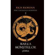 Percy Jackson si Olimpienii vol 2: Marea Monstrilor ( editura: Arthur, autor: Rick Riordan, ISBN 978-606-8044-57-6 )