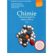 Chimie: Manual pentru clasa a XII-a C3 ( editura: Art, autor: Luminita Vladescu, Irinel Adriana Badea, Luminita Irinel Doicin, Maria Nistor, ISBN 978-973-124-671-0 )