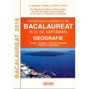 Pregatirea examenului de bacalaureat in 21 de saptamani: Geografie - Europa, Romania, Uniunea Europeana ( editura: Sigma, autor: C. Homeghiu, ISBN 978-606-727-120-1 )