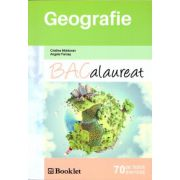 Geografie Bacalaurat: 70 de teste si sinteze ( editura: Booklet, autor: Cristina Moldovan, Angela Farcas, ISBN 978-606-590-264-0 )