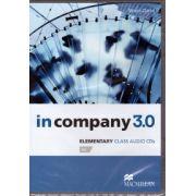 In Company 3. 0 Elementary Class Audio CDs ( editura: Macmillan, autor: Simon Clarke, ISBN 978-0-230-45505-4 )