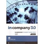 In Company 3. 0 Elementary Student's book pack ( editura: Macmillan, autor: Simon Clarke, ISBN 978-0-230-45500-9 )