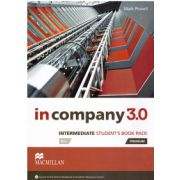 In Company3. 0 Intermediate Student's book pack ( editura: Macmillan, autor: Mark Powell, ISBN 978-0-230-45523-8 )