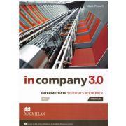 In Company3. 0 Intermediate Student's book pack ( editura: Macmillan, autor: Mark Powell, ISBN 9780230455238 )