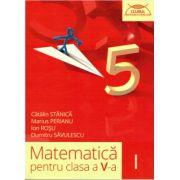 Matematica pentru clasa a V-a - Clubul Matematicienilor - partea I ( editura: Art, autor: Catalin Stanica, Marius Perianu, Ion Rosu, Dumitru Savulescu, ISBN 978-606-710-261-1 )