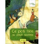 Ce poti face cu doua cuvinte ( editura: Arthur, coord: Liviu Papadima, ISBN 978-606-8044-21-7 )