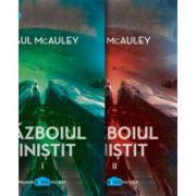 Razboiul linistit (2 volume) ( editura: Art, autor: Paul McAuley, ISBN 978-606-93846-6-4 )