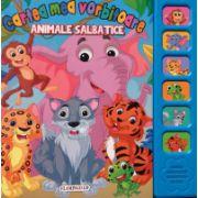 Cartea mea vorbitoare: Animale salbatice ( editura: Flamingo GD, ISBN 978-606-713-049-2 )