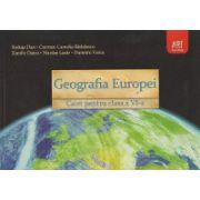Geografia Europei Caiet pentru clasa a VI-a ( Editura: Art Grup Editorial, Autor: Steluta Dan, Carmen Camelia Radulescu, Zamfir Datcu, Nicolae Lazar, Dumitru Voicu ISBN 9789731248219 )