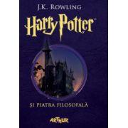Harry Potter si piatra filosofala ( editura: Art, autor: J. K. Rowling, ISBN 978-606-8620-73-2 )