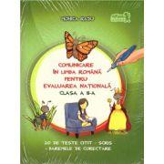 Comunicare in limba romana pentru evaluarea nationala clasa a II-a: 20 de teste citit - scris + baremele de corectare ( editura: Art, autor: Monica Radu, ISBN 978-606-710-163-8 )