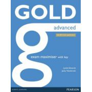 Gold Advanced Maximiser with Key ( editura: Longman, autor: Jacky Newbrook, Lynda Edwards, ISBN 9781447907060 )
