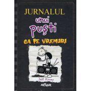 Jurnalul unui pusti vol 10. Ca pe vremuri ( editura: Arthur, Autor: Jeff Kinney, ISBN 978-606-8620-65-7 )