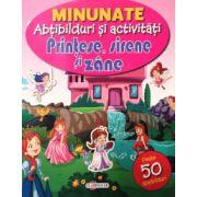 Printese, sirene si zane - 50 abtibilduri ( editura: Flamingo, ISBN 978-606-713-047-8 )