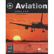 Aviation English For ICAO compliance + CD ( Editura: Macmillan, Autor: henry Emery, Andy Roberts ISBN 978-0-230-02757-2 )