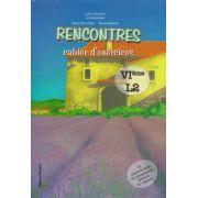 Rencontres cahier d' exercises VI eme L2 ( Editura: Nomina, Autor: Larisa Gojnete ISBN 978-606-535-482-1 )