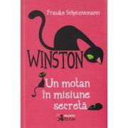 Winston, un Motan in misiune secreta ( Editura: Booklet, Autor: Frauke Scheunemann ISBN 9786065902817 )