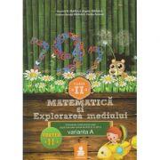 Matematica si explorarea mediului clasa a II - a, partea a II-a varianta A ( Editura: Euristica, Autor: Dumitru D. Paraiala, Bogdan Paraiala ISBN 9786068751108 )