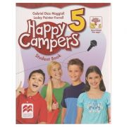 Happy Campers 5 Student's Book + The Language Lods ( Editura: Macmillan, Autor: Gabriel Diaz Maggioli, Lesley Painter - Farrell ISBN 978-0-230-47073-6 )