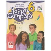 Happy Campers 6 Student 's Book + The Language Lodge ( Editura: Macmillan, Autor: Angela Llanas, Libby Williams ISBN 978-0-230-47248-8 )