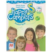 Happy Campers Starter Student's Book + The Language Lodge ( Editura: Macmillan, Autor: Patricia Acosta, Angela Padron ISBN 978-0-230-47249-5 )