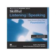Skillful Listening and Speaking Digital Student s Book Pack Foundation with access to the Student s Resource Center ( Editura: Macmillan, Autor: David Bohlke ISBN 978-0-230-48932-5 )