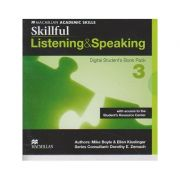 Skillful Listening & Speaking Digital Student s Book Pack 3 with Acces to the Student s Resource Center ( Editura: Macmillan, Autor: Mike Boyle, Ellen Kisslinger ISBN 9780230489493 )