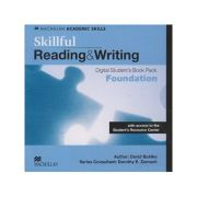 Skillful Reading & Writing Digital Student s Book Pack Foundation with access to the Student Resource Center ( Editura: Macmillan, Autor: David Bhlke ISBN 978-0-230-48933-2 )