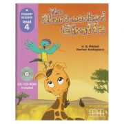 The short-necked Giraffe + CD Primary Reader Level 4 ( Editura: MM Publications, Autor: H. Q. Mitchell, Marileni Malkogianni ISBN 978-960-573-696-5 )