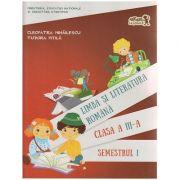 Limba si literatura romana manual pentru clasa a III-a Semestrul I + CD ( Editura: Art Grup Editorial, Autor: Cleopatra Mihailescu, Tudora Pitila ISBN 978-606-710-308-3 )