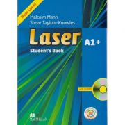 Laser A1+ Student s Book with CD-ROM and MPO ( Editura: Macmillan, Autor: Malcolm Mann, Steve Taylore-Knowles ISBN 978-0-230-47065-1 )