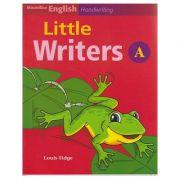 Litle Writers A for Handwriting ( Editura: Macmillan, Autor: Louis Fidge ISBN 978-1-4050-6078-3 )