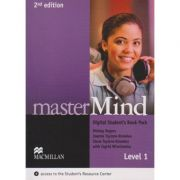 Master Mind Digital Student s Book Pack Level 1, Second Edition ( Editura: Macmillan, Autor: Mickey Rogers, Joanne Taylore-Knowles, Steve Taylore Knowles isbn 9780230495210 )