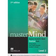 Master Mind Digital Student s Book Premium Pack Level 2 Second Edition ( Editura: Macmillan, Autor: Mickey Rogers, Steve Taylore-Knowles, Dorothy E. Zemach ISBN 9780230495272 )