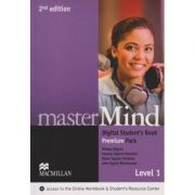 Master Mind Digital Student s Book Premium Pack Level 1 Second Edition ( Editura: Macmillan, Autor: Mickey Rogers, joanne Taylore-Knowles, Steve Taylore-Knowles, Ingrid Wisniewska ISBN 9780230495227 )