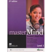 Master Mind Student S Book Pack Level 1, Second Edition + DVD ( Editura: Macmillan, Autor L Mickey Rogers, Joanne Taylore-Knowles Steve Taylore-Knowles ISBN 978-0-230-46971-60 )