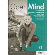 Open Mind Advanced Student s Book Pack C1 + DVD + Access to the Student s Resource Centre ( Editura: Macmillan, Autor: Mickey Rogers, Steve Taylore-Knowles ISBN 978-0-230-45826-0 )