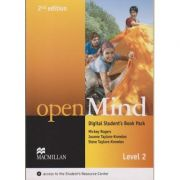 Open Mind Digital Student s Book Pack Second Edition Level 2 with access to the Student s Resource Center ( Editura: Macmillan, Autor: Mickey Rogers, Joanne Taylore-Knowles, Steve Taylore-Knowles ISBN 9780230495111 )
