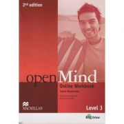 Open Mind Online Workbook Level 3 Second Edition ( Editura: Macmillan, Autor: Ingrid Wisniewska ISBN 978-0-230-45975-5 )