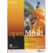 Open Mind Student s Book Pack Level 2B Second Edition ( Editura: Macmillan, Autor: Mickey Rogers, Joanne Taylore-Knowles, Steve taylore-Knowles ISBN 978-0-230-45965-6 )