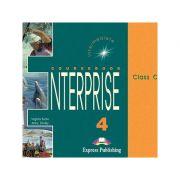 Curs limba engleză Enterprise 4 Audio CD (set 3 CD) ( editura: Express Publishing, autori: Virginia Evans, Jenny Dooley ISBN 978-1-84216-824-0 )