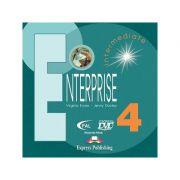 Curs limba engleză Enterprise 4 DVD ( editura: Express Publishing, autori: Virginia Evans, Jenny Dooley ISBN 978-7-84558-036-0 )