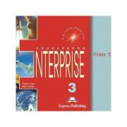 Curs limba engleză Enterprise 3 Audio CD (set 3 CD) ( editura: Express Publishing, autori: Virginia Evans, Jenny Dooley ISBN 978-1-84216-814-1 )