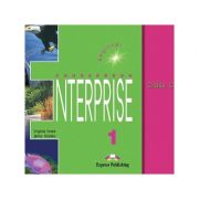 Curs limba engleză Enterprise 1 Audio CD (set 3 CD) ( Editura: Express Publishing, Autor: Virginia Evans, Jenny Dooley ISBN 978-1-84216-096-1 )