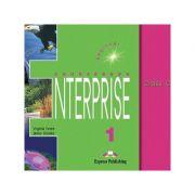 Curs limba engleză Enterprise 1 Audio CD (set 3 CD) ( Editura: Express Publishing, Autor: Virginia Evans, Jenny Dooley ISBN 978-1-84216-096-1 )
