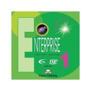 Curs limba engleză Enterprise 1 Audio CD (set 3 CD)( editura: Express Publishing, autori: Virginia Evans, Jenny Dooley ISBN 978-1-84558-032-2 )