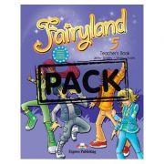 Curs limba engleză Fairyland 5 Manualul profesorului cu postere ( Editura: Express Publishing, Autor: Jenny Dooley, Virginia Evans ISBN 9780857771766